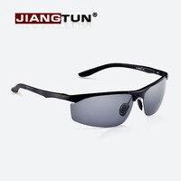Driving Mirror Male Polarized Sunglasses Men Brand Designer Aluminum Magnesium Frame Sun Glasses For Outdoor Sport
