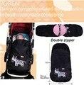 2016 New Baby stroller winter sleeping bag Fleece footmuff envelope carriage sac de couchage saco dormir para bebes cochecitos
