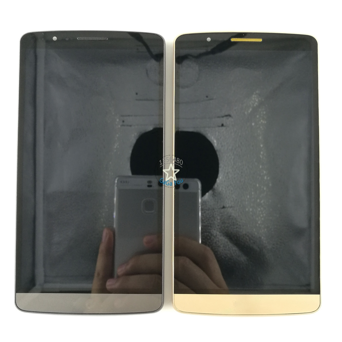 ФОТО Original LCD Display Touch Screen Digitizer Assembly + Frame For LG G3 D850 D851 D852 D855 High Quality LCD Screen Parts