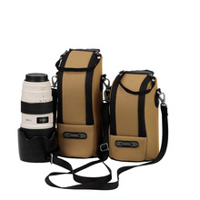 High Quality The Camera Lens Of Receive Bag Portable Khaki Action Accessories Mini For CANON and Nikon