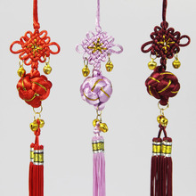 Chinese Knot Tassels Diy 10 pcs New Year Spring Festival Wedding Supplies Bell China Pendants Craft Friends Gifts