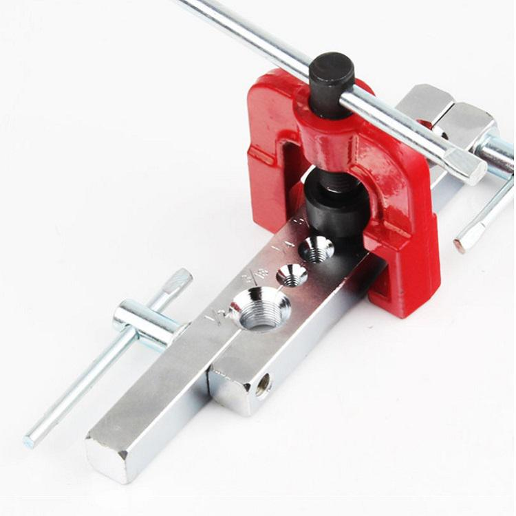 6 Dies Tubing Pipe Flaring Tools Set Kits Woodworking Metal Extension Tools Air Brake Line Flaring Tubes (Flare)
