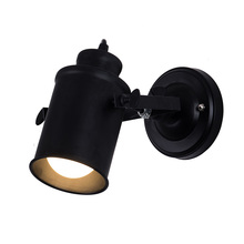 Black shell Industrial ceiling lamp for hotel home bar light indoor lighting free shipping