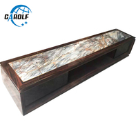 New Arrival Home Furniture Product Cheap Price Modern TV Table Living Room Marble Top TV Stand Wooden TV Unit For Sale
