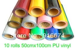 Fast free shipping discount 10 pieces 20 x3 50x100cm heat transfer pu vinyl heat press cutting.jpg 250x250
