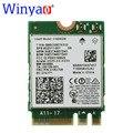 Winyao wy3168ac 2.4g/5g dual band para intel ac 3168ngw ngff 802.11ac 433 mbps sem fio 2x2 + bluetooth 4.2 wi-fi hp 852511-001