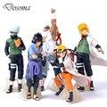Chegam novas 5 Pçs/set Naruto Brinquedos Clássicos Figura de Ação Legal Naruto Uzumaki Kakashi Sasuke Figura Modelo Anime para Crianças Bebê presente