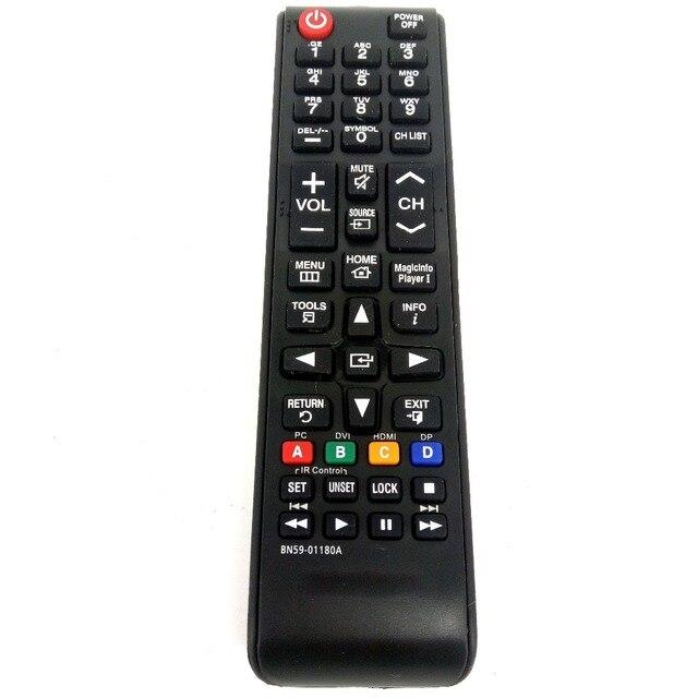 ใหม่สำหรับSAMSUNG BN59 01180A TVรีโมทคอนโทรลสำหรับDB32D DB40D DB48D LH55DBDPLGA TV Fernbedienung