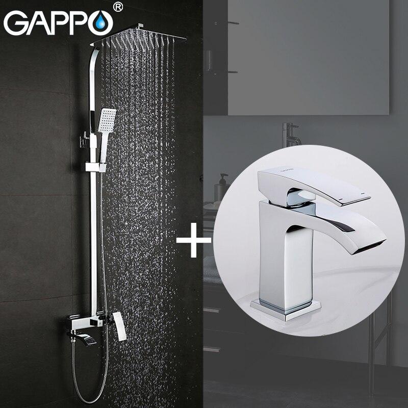 GAPPO Dusche Armaturen badewanne wasserhahn bad wasserhahn mischer becken armaturen basin waschbecken tap Sanitär Ware Suite