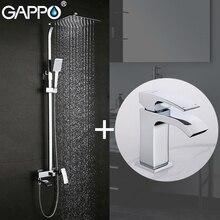GAPPO baterie natryskowe wanny kran bateria do łazienki baterie umywalkowe kran do zlewu i umywalki zestaw sanitarny
