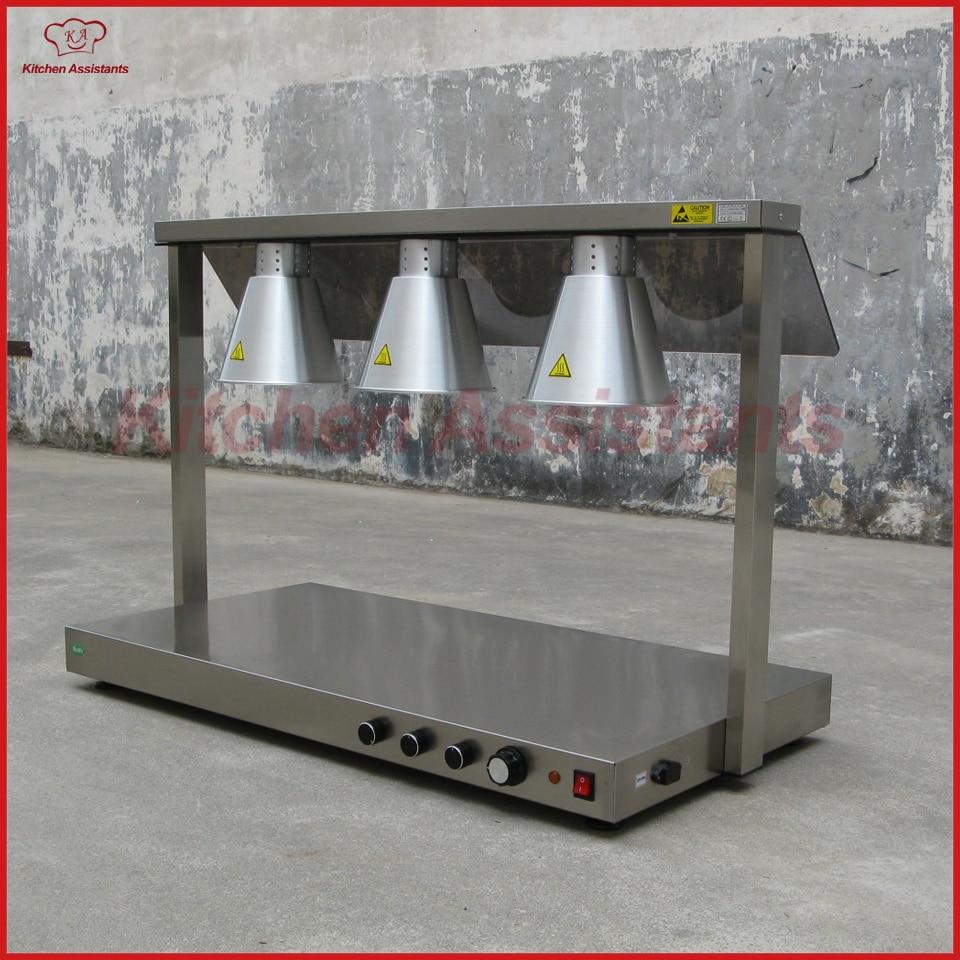 все цены на DR3 luxury marble bottom Food Warming Lamp/ Three Lamp Warming Station онлайн