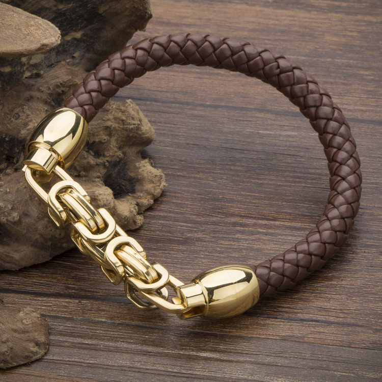 2017 New Fashion Brand Genuine Leather Bracelets For Women Vintage Metal Classic Wrap Charm Bracelets Bangles Female Bracelet