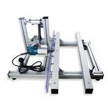 Coupe bordures, machines pour le travail du bois, machine à tailler les plaques et à arrondir les coins après le cerclage des bords