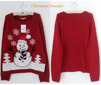 Cheshanfน่าเกลียดเสื้อกันหนาวคริสต์มาสมนุษย์หิมะน่ารักสวมใส่พิ