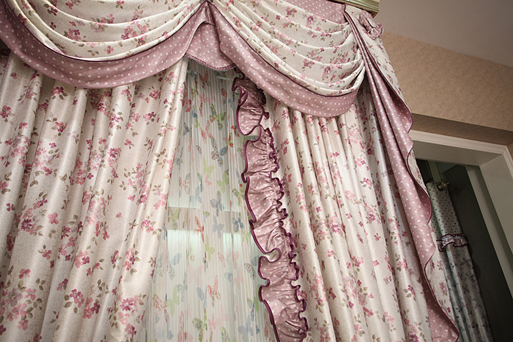 Curtains Ideas butterfly valance curtains : Aliexpress.com : Buy high quality patchwork fabric curtain ...