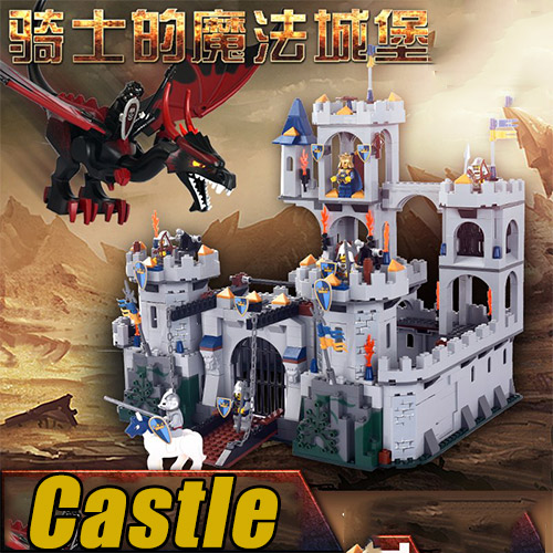 1023Pcs Movie Series King Castle Battle Siege Set Building Block Toys Compatible With Legoings City 7094 movie series king castle battle siege set model building block bricks toys compatible legoings city castle 7094