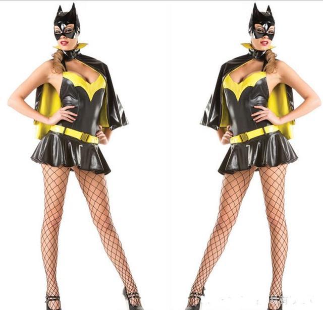 superhelden kost m batman kost m frauen halloween dc batgirl kost me sexy schwarzen superhelden. Black Bedroom Furniture Sets. Home Design Ideas