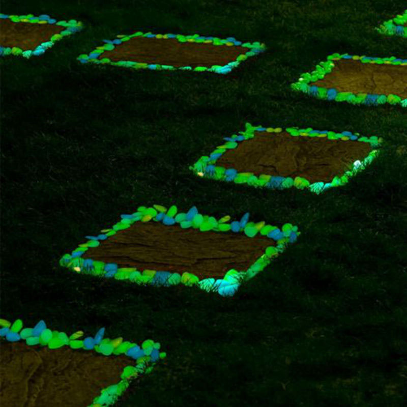 Glowing Garden Stones 100pcs glow in the dark stones green decor garden outdoor pebble 100pcs glow in the dark stones green decor garden outdoor pebble luminous rocks blue pretty stylish attractive creative on aliexpress alibaba group workwithnaturefo