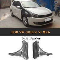 Carbon Fiber front fender car side fender fit for VW GOLF 6 VI MK6