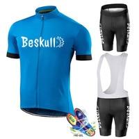 2019 letnia jazda na rowerze koszulka zespołu 19D podkładki żelowe rower szorowie zestaw męskie szybkie suche pro jazda na rowerze triathlon jazda na rowerze odzież w Zestawy rowerowe od Sport i rozrywka na