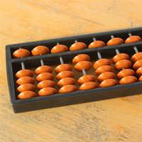 Kunststoff Abacus Arithmetik Soroban 13 Ziffern Kinder Mathematik Berechnung Werkzeuge Chinesische abacus spielzeug abacus pädagogisches 22*6*1,5 cm