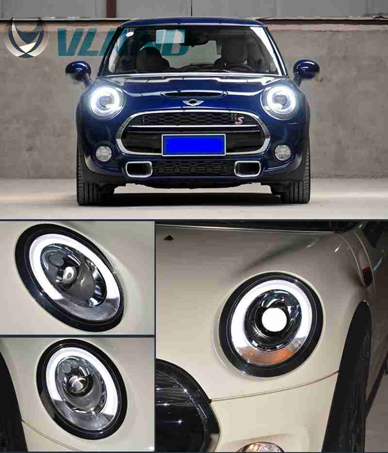 Free Shipping Vland Car Lamp for BMW Mini Cooper LED Headlight F55 F56 LED Front Head Lamp LED Light Bar for Year Model 2014-17 набор приспособлений для обслуживания грм двигателя bmw n12 mini cooper jonnesway al010079