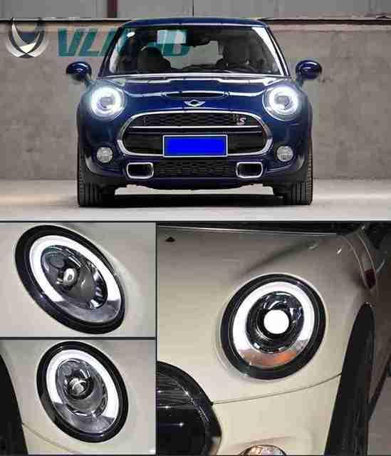 Vland Car Lamp For Bmw Mini Cooper Led Headlight F55 F56 Front Head Light Bar Year Model 2017