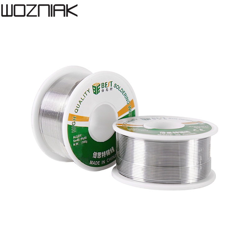 BEST Solder Wire High Quality 100g Sn45/pb55 Stainless Steel Alloy Aluminium Welding Soldering Wire Solde 0.3 0.8mm