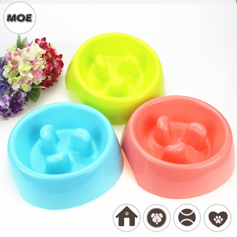Unique Anti-choke Design Food Container Bowl For Small Dog Feeding On Sale
