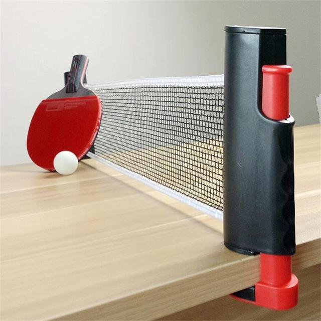 Leo Table Tennis Net Retractable And Adjustable To Most Table Sizes Portable  Retractable Table Tennis Table