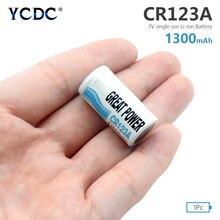 3 в литий-ионная батарея CR123A CR123 CR 123A CR17345 DL123A неперезаряжаемые батареи для камеры счетчик воды газа Высокое качество