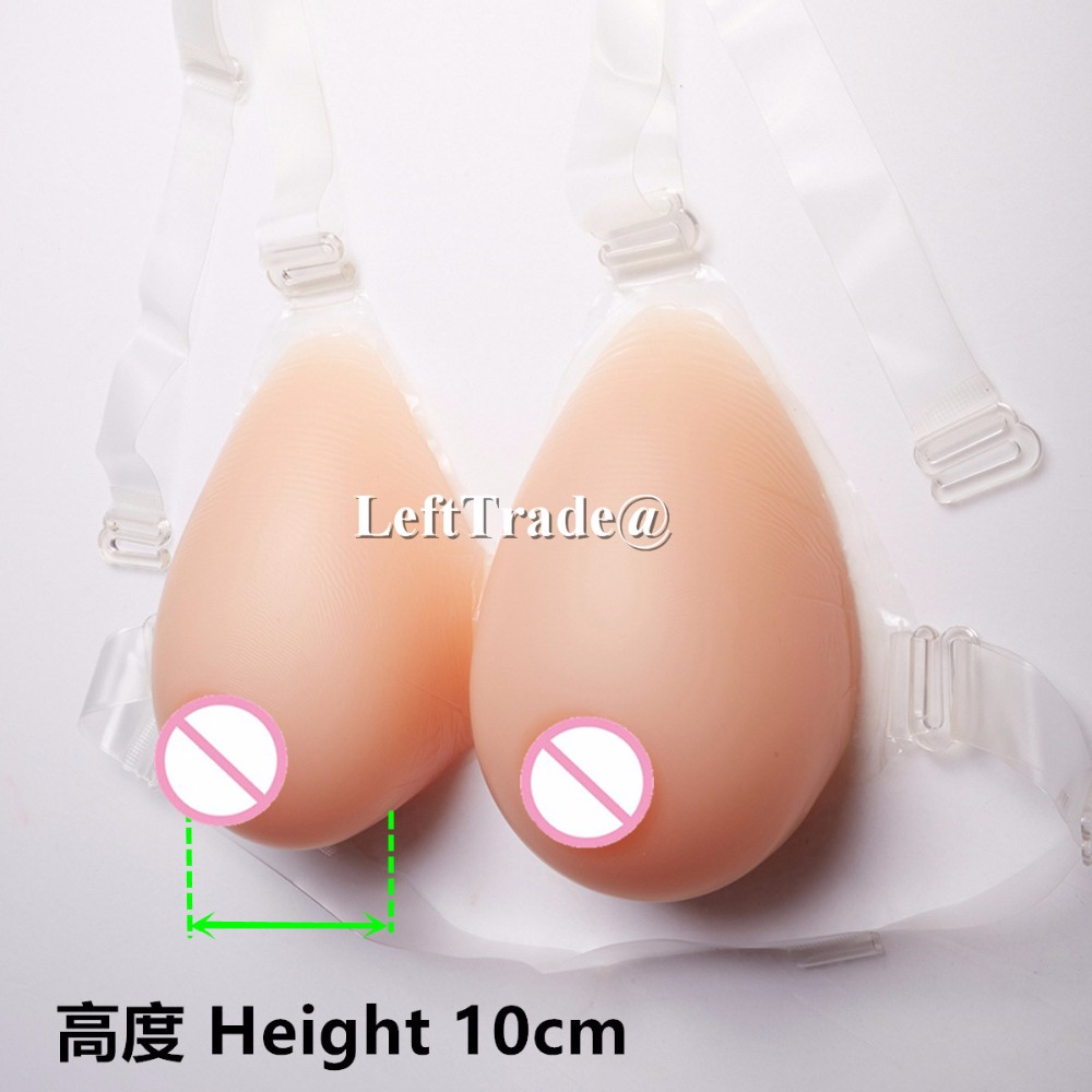 Huge 3200g H cup fake boobs transgender silicone breast form real natural nude skin tone 1 pair gg cup nude skin tone 2800g silicone breast form with straps