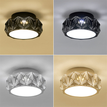 JAXLONG Modern LED Ceiling Lamps Lights Hallway Corridor Staircase Porch Entrance Balcony Study Bedroom Living Room Lighting ceiling lights modern minimalist style iron round led living room ceiling lamp bedroom entrance hall balcony corridor lighting