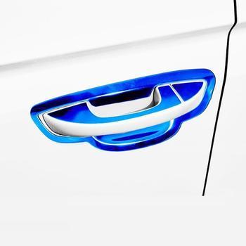 Manija ventana puerta Exterior Exent automóvil Auto decorativo coche estilo protector brillante lentejuelas 17 18 19 para Hyundai Verna