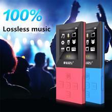 2017 Nueva Original RUIZU X18 Bluetooth Reproductor de MP3 con 8G puede Reproducir 130 Horas Grabadora de Alta Calidad Reproductor de Música Sin Pérdidas FM