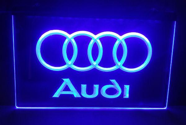 B Audi Car Beer Bar Pub Club D Signs LED Neon Light Sign - Audi car sign