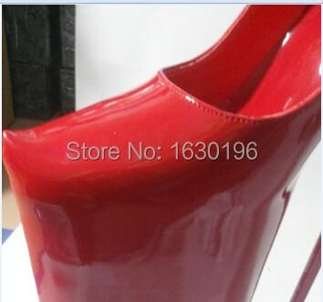 Chaussure femme luxury women red high heels 40CM Career sexy fetish ... 6d8909a1b455