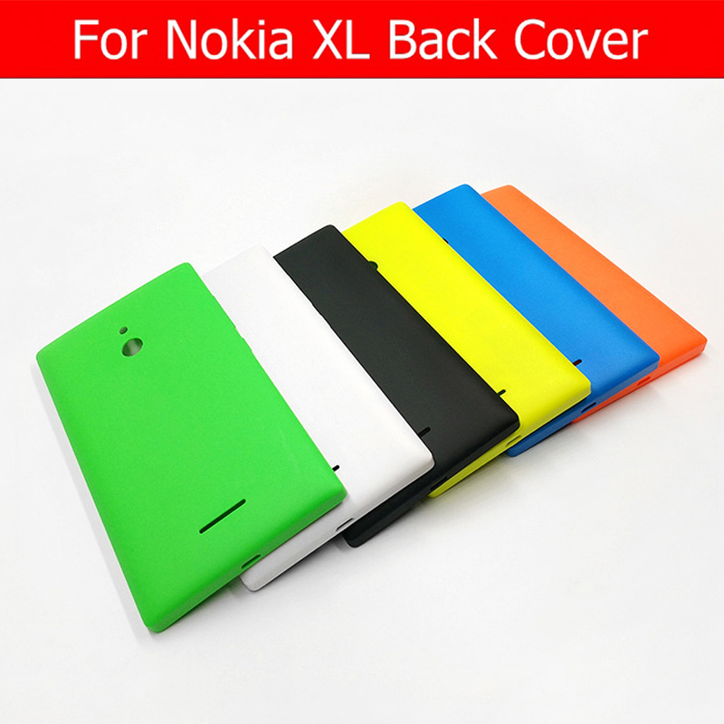 Genuine Back Battery Door Housing For Nokia XL Rear Cover Case For Microsoft Lumia XL Back Cover + 1pcs Screen Film Free