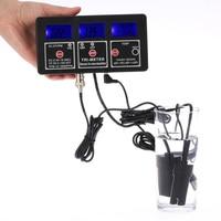 Multi-paramètre Numérique ph-mètre Professionnel 7 en 1 Test De Compteur D'eau Moniteur ORP/pH/RH/CE/FC/TDS (PPM)/TEMPTester