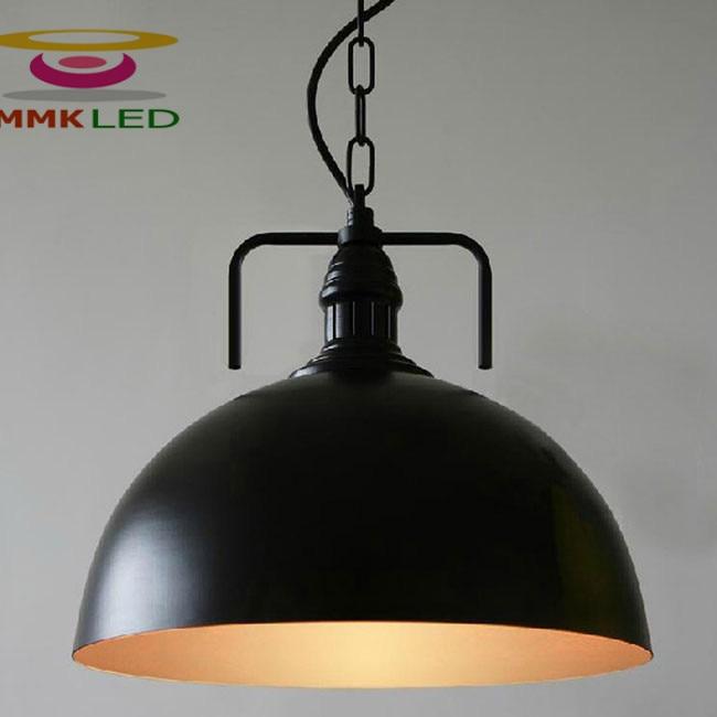 Hot Vintage Edison Průmyslové stropní lampa závěsné Závěsné osvětlení podkroví Americká venkovská restaurace Sprcha Lampa lustr