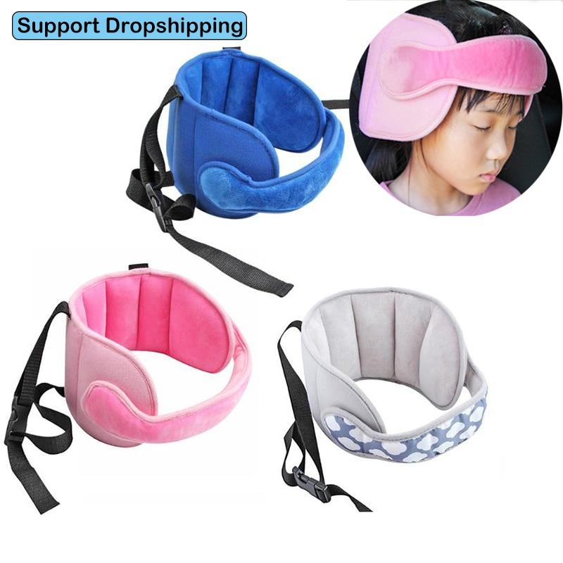 Safety Baby Stroller Sleep Belt Infant Car Seat Sleep Head Support Kids Adjustable Pram Seat Sleepping Holder Fastening Belts