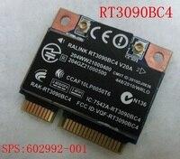 SSEA original Novo Para HP SPS: 602992-001 Ralink RT3090BC4 wireless 802.11b/g/n Metade mini PCI-E cartão de 300 Mbps