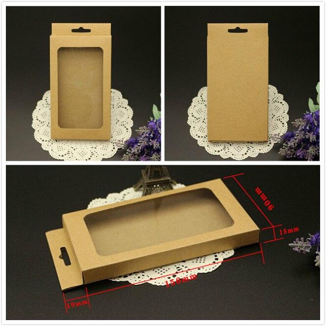 Universal Handy Fall Paket Papier Kraft Braun Einzelhandel Verpackung Box für iphone 7 6 5s Samsung S4 S5 Note3 handy-in Geschenktüten & Verpackungs-Zubehör aus Heim und Garten bei  Gruppe 1