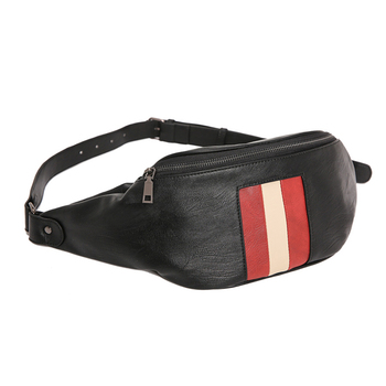 Men's Waist Bags High Quality PU Leather Man Chest Bag Couple Waist Pack Handy Fanny Pack New Fashion Trend Crossbody Bags Male