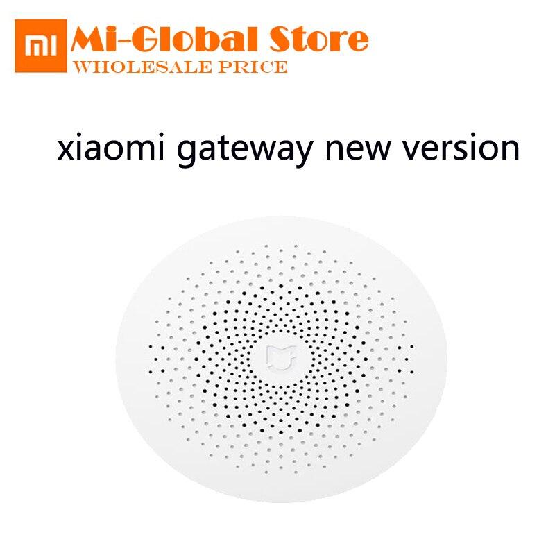 Nuova Versione Originale Xiaomi Mijia Gateway Gateway Controllo del Sistema di Allarme Multifunzionale Mi Sensore Porta Campana Temperatura