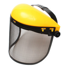 Mesh Chainsaw Safety Helmet Hat Logging Brushcutter Forestry Visor Protection New Arrival