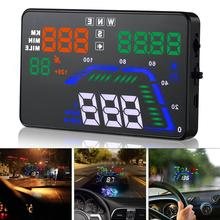 Universal Q7 5.5 Inch Auto Car HUD GPS Head Up Display Speedometers Overspeed Warning Dashboard Windshield Projector hot sale universal auto car hud head up display q7 5 5 speedometers overspeed warning dashboard windshield project