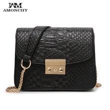 2016 Modekette frauen Umhängetaschen Crocodile Weibliche Kleine Tasche Marke Woman Messenger Bag Casual Sperre Dame Crossbody Taschen 19