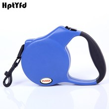 Pet Dog Retractable Leash Automatic Small Dog Puppy Cat Lead Leashes Collars For Pet Training Sport Products (Blue,Black,Red) lighting polyester leash for pet dog w 1 led blue light blue black