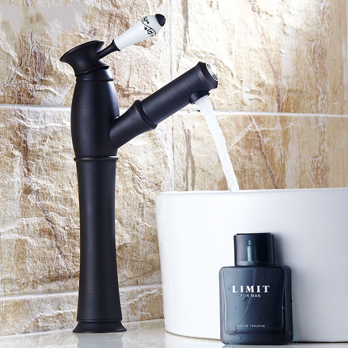 Hot sale Pull Out brass Kitchen Oil Rubbed Bronze Sink & Bathroom Basin Spray Mixer Tap Faucet deck mounted single hole/handleHot sale Pull Out brass Kitchen Oil Rubbed Bronze Sink & Bathroom Basin Spray Mixer Tap Faucet deck mounted single hole/handle